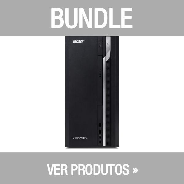 Acer Bundle 2x Veriton VX2660G Intel Core i5-8400 8GB 1TB - DT.VQWEB.028 + Acer V226HQLAbd