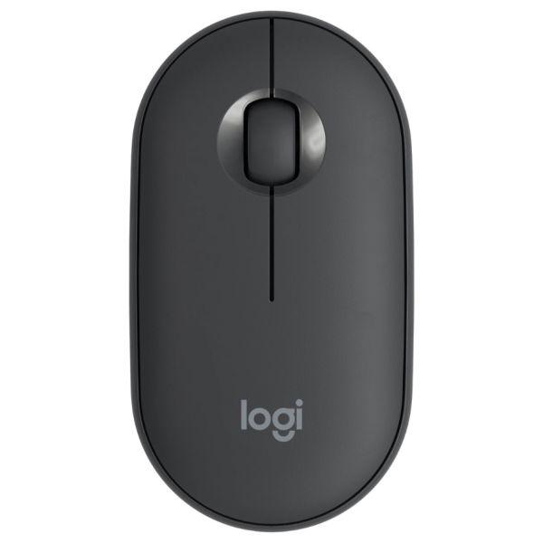 Logitech Pebble M350 Wireless Mouse Graphite - 910-005718