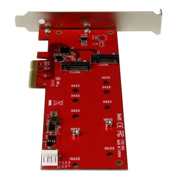 Startech Adaptador de Interface M.2 - PEX2M2