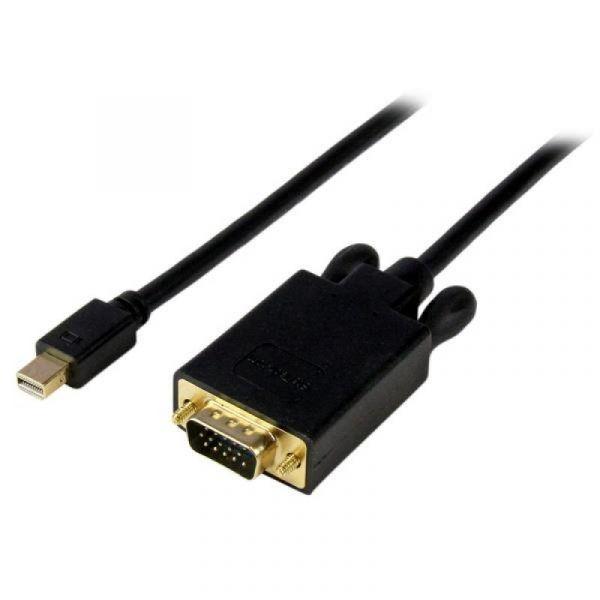 Startech Adaptador Mini Displayport Macho Vga Macho (1,8 Mts) Preto - MDP2VGAMM6B