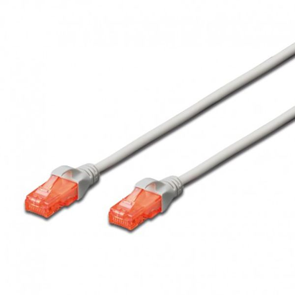 Ewent Chicote Patch Cable Cat 6 Utp White - 1MT