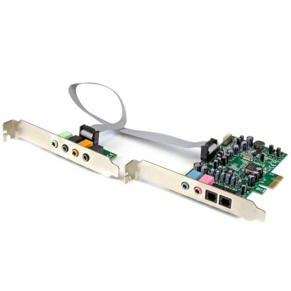 Startech Placa de Som PCI Surround de 7.1