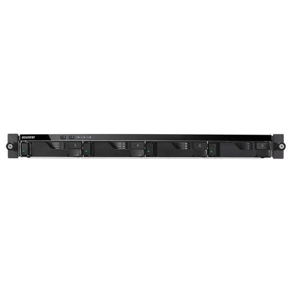 Asustor Nas 1U Rack 4 Bay Celeron Quad-core 4GB Gbe X 4 usb 3.1 Gen-1 x4 Wol 3Y Wty AS6204RD