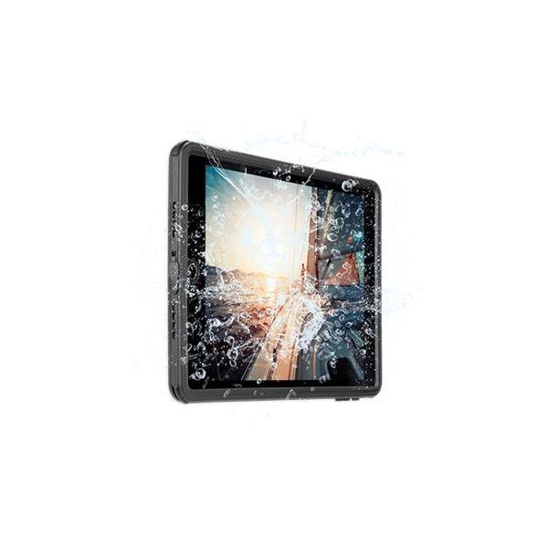 4smarts Capa para iPad 9.7 2018 / 2017 Protetora e Impermeável - Preto - BACK-STARK-IPA97