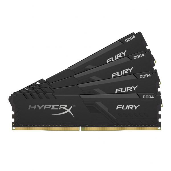 Memória RAM Kingston 32GB HyperX Fury Black (4x8GB) DDR4 3466Mhz PC-27700 CL16