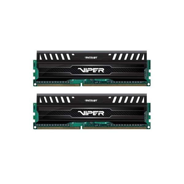 Memória RAM Patriot 8GB DDR3-1866 Kit Black - PV38G186C0K