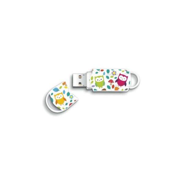 Integral Pen Drive Flash USB Pattern Owls 32GB - 5630