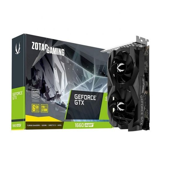 Placa Gráfica Zotac Gaming GeForce GTX 1660 SUPER Twin Fan 6GB GDDR6 (PCIE) - ZT-T16620F-10L