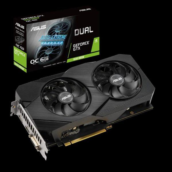 Asus GeForce GTX 1660 SUPER Dual 6GB OC GDDR6 - 90YV0DS3-M0NA00
