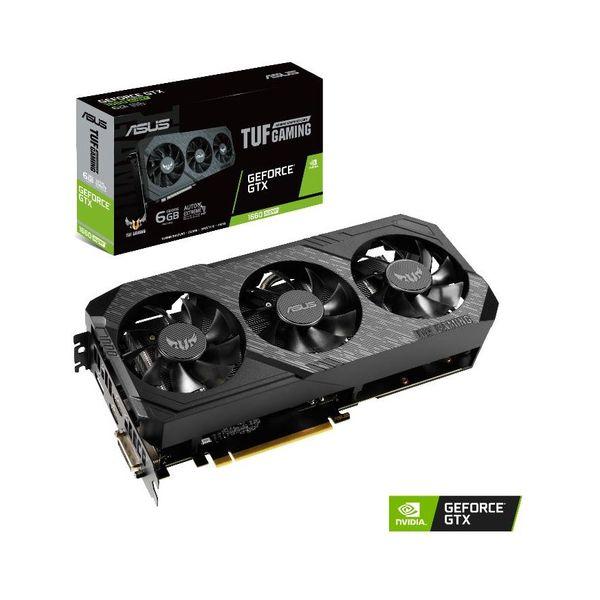 Asus GeForce GTX 1660 SUPER TUF Gaming X3 6GB OC GDDR6 - 90YV0DS0-M0NA00