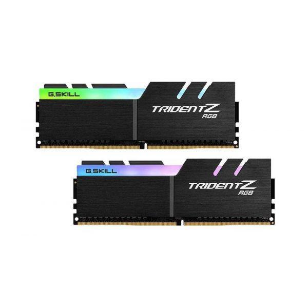 Memória RAM G.SKILL Trident Z RGB 16GB (2x8GB) DDR4-4000MHz CL18 Black - F4-4000C18D-16GTZRB