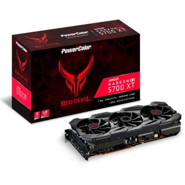 Placa Gráfica Powercolor Radeon RX 5700 XT Red Devil 8GB GDDR6