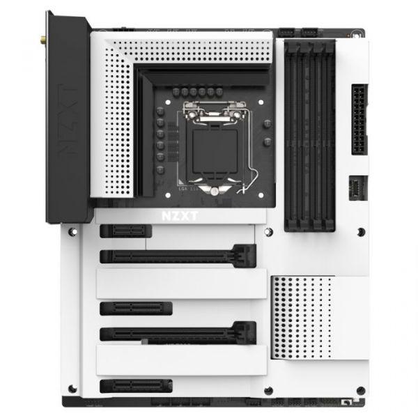 Motherboard NZXT N7 Z390 White - N7-Z39XT-W1