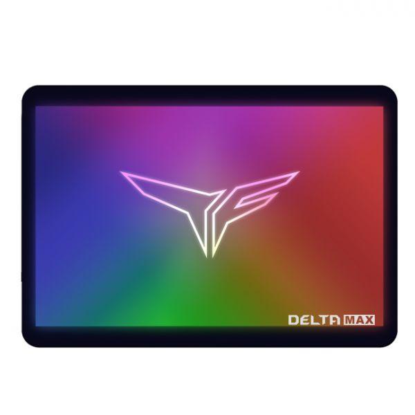 Team Group 250GB T-Force Delta MAX ARGB SSD SATA III - T253TM250G3C302