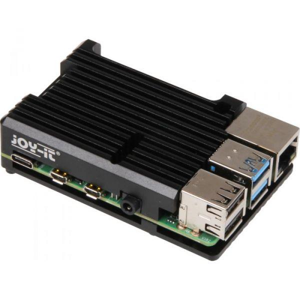 Raspberry Pi Caixa Joy-iT Block para Raspberry Pi 4 Black