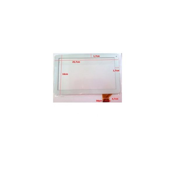 Touch para Tablet Universal 10.1' White FE-DH-1006A1-FPC26