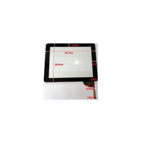 Touch para Tablet Universal 10' Black HN-DR97010 / WJ-DR97010 / AD-C-970574-FPC / WJ-DR97010-03