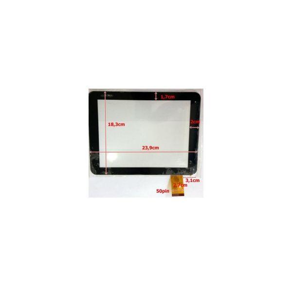 Touch para Tablet Universal 10' Black TPC-50146-V1.0 / FPC-MT97002-V2 / MT97002-V4D