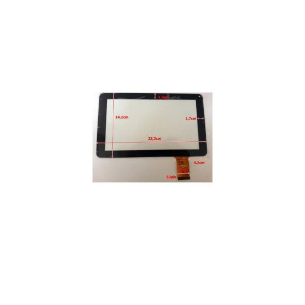 Touch para Tablet Universal 9' Black DH-0902A1-FPC03-02