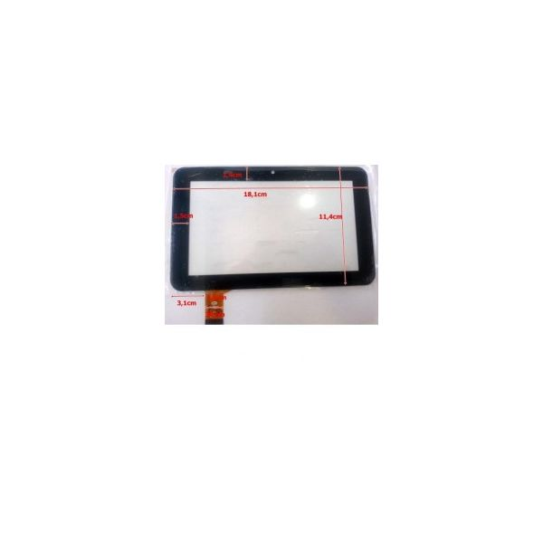 Touch para Tablet Universal 7' Black FM706801KA