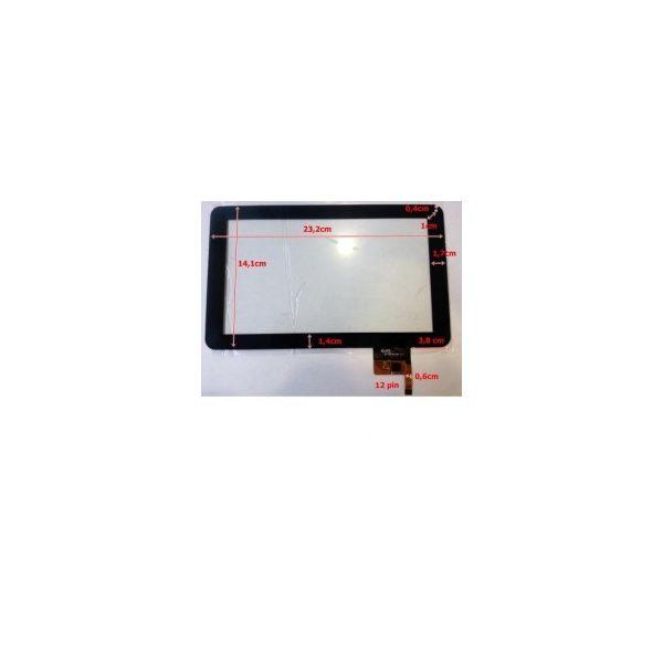 Touch para Tablet Universal 9' Black 300-N3849B-A00-V1.0, DPT-N3849A-G-1, JC1314
