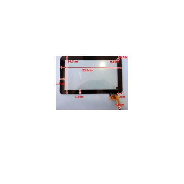 Touch para Tablet Universal 9' Black AD-C-900041-1-FPC