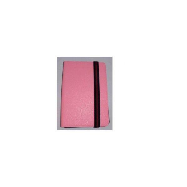 Capa Tablet Univ. 8' liso Rosa Claro Velcro