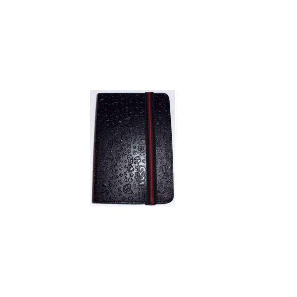 Capa Tablet Univ. 6' Design Black Velcro