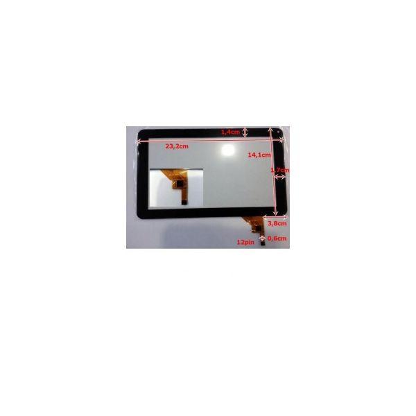 Touch para Tablet Universal 9' Black MF-195-090F-4 / CS3849 / JC1314