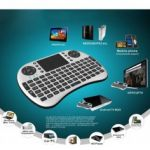 Mini Teclado Wireless + Touchpad