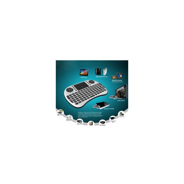 Mini Teclado Wireless + Touchpad