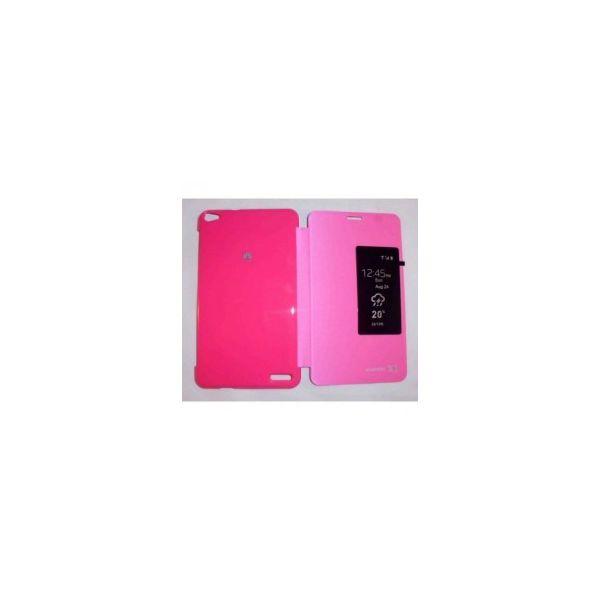 Capa Inteligente S-VIEW Cover Rosa Mediapad X1 7.0
