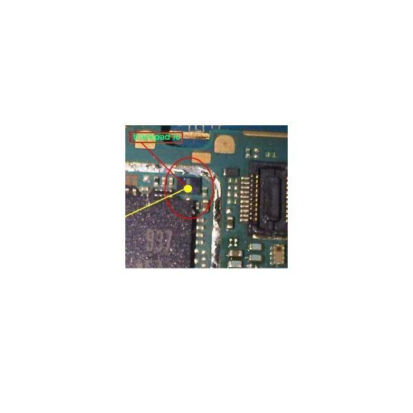 IC Trackpad Blackberry 9700