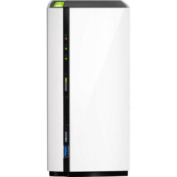 QNAP NAS TS-228 NAS Mini Torre Ethernet LAN White - TS-228-8TB