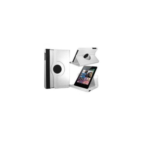 Capa Rotativa Asus Google Nexus 7' Touch para 360º Branca