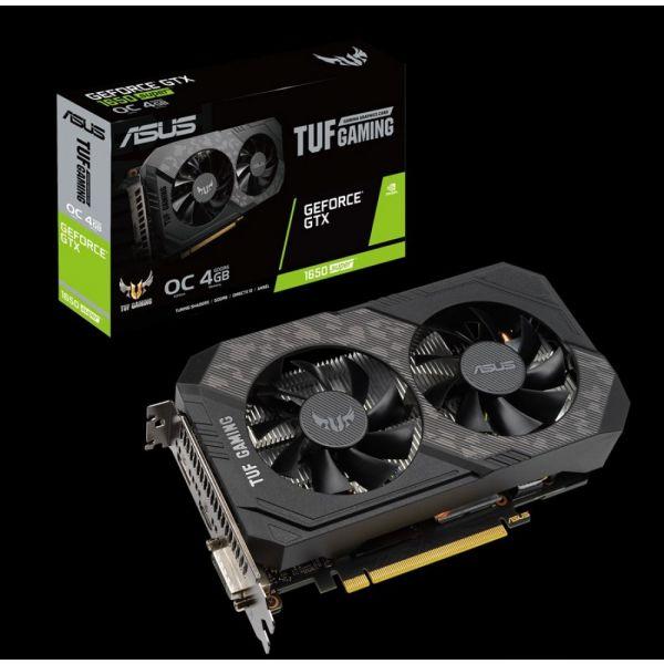 Asus GeForce GTX 1650 SUPER TUF Gaming 4GB OC GDDR6 - 90YV0E42-M0NA00