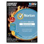 Symantec Norton Security Deluxe / Norton WiFi Privacy 1user 3 dev. 1y Gamers Edition