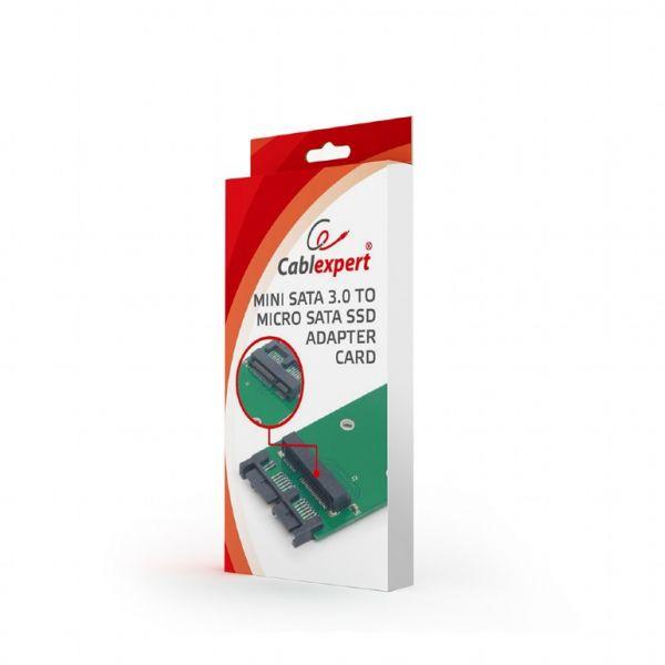 "Gembird Adaptador Mini SATA 3.0 Micro SATA 1.8"" SSD - EE18-MS3PCB-01"