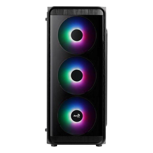 Aerocool SI-5200 Frost RGB USB 3.0 com Janela Black