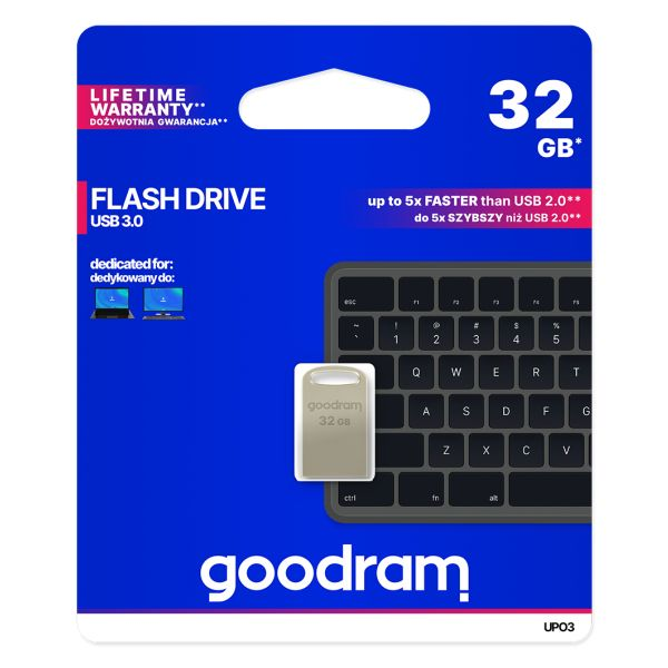 Goodram 32GB UPO3 USB 3.0 Metal - UPO3-0320S0R11