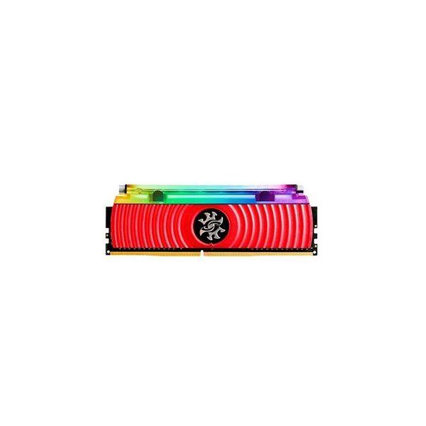 Memória RAM ADATA 16GB DDR4 CL16 3200Mhz XPG SPECTRIX D80 RGB Red - AX4U3200316G16-SR80