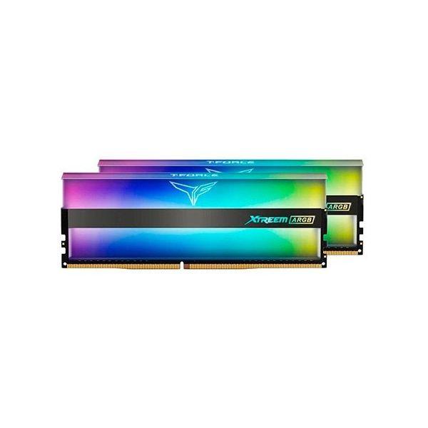 Memória RAM Team Group 16GB (2 x 8GB) DDR4 3200MHz Xtreem ARGB Mirror CL16 - TF10D416G3200HC16C