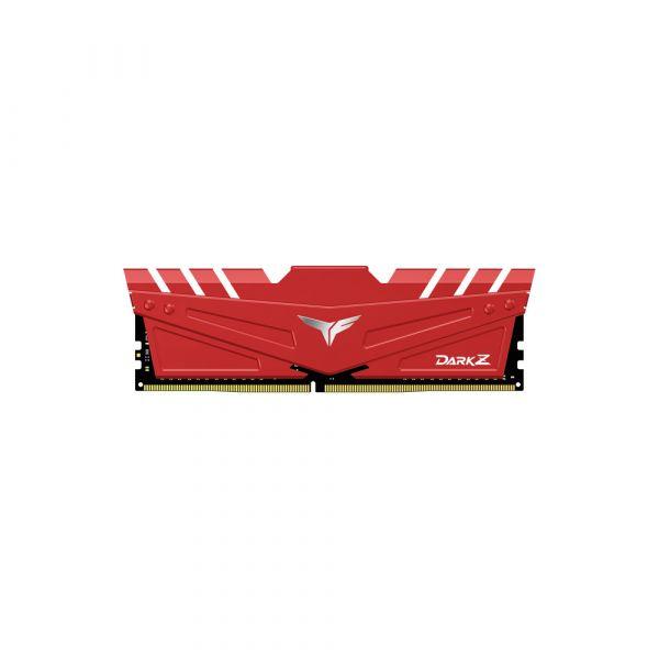 Memória RAM Team Group 32GB (2 x 16GB) DDR4 3600MHz Dark Z Red CL18 - TDZRD432G3600HC18J