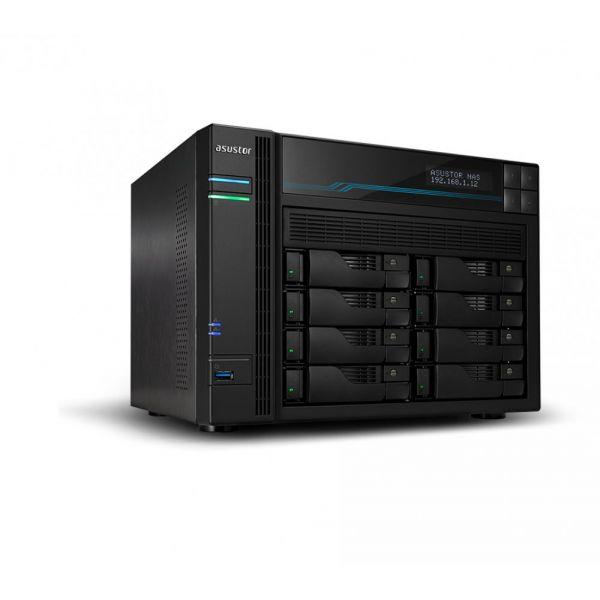 Asustor Nas AS6508T 8 Bay ATOM C3538 8GB 2x USB 3.2 2x M.2 SSD