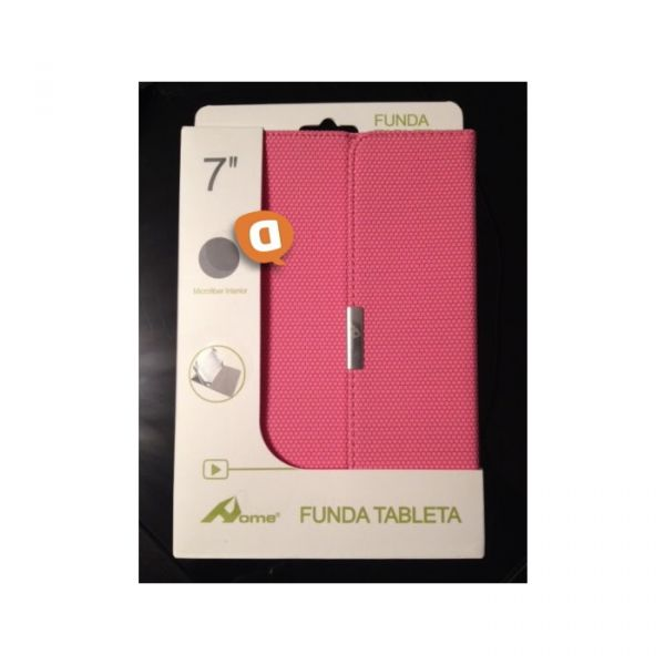 "Capa Protetora Flip Book para Tablet 7"" Microfibra Rosa (Home)"