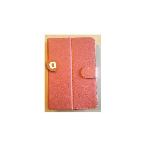"Capa Protetora Flip Book para Tablet 7"" Rosa"