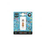 Tech One Pendrive 16GB No Evil Monkey - 10483