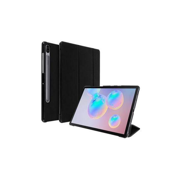 Avizar Capa Livro Samsung Galaxy Tab S6 10.5 Função Suporte Preto FOLIO-TRIF-BK-T860