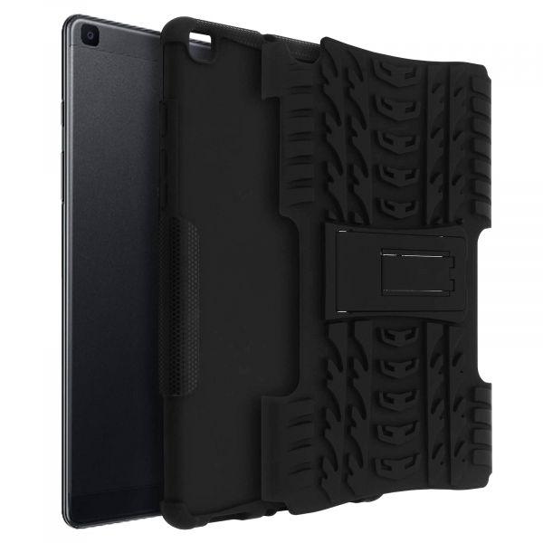 Avizar Capa Integral Samsung Galaxy Tab a 8.0 2019 Silicone Preto BACK-QUADRO-BK-T290