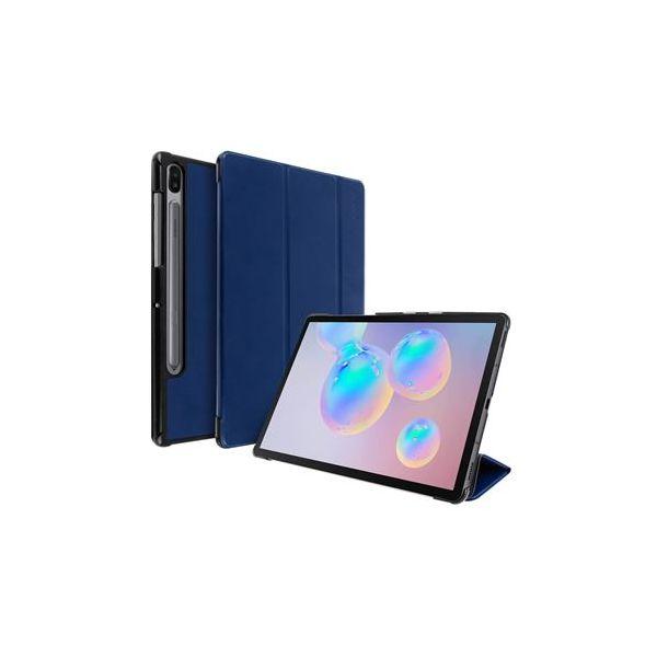 Avizar Capa Livro Samsung Galaxy Tab S6 10.5 Função Suporte Azul Escuro FOLIO-TRIF-NT-T860